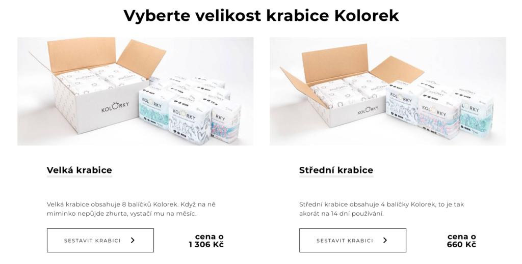 konfigurátor Kolorky.cz