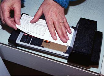 mechanický imprinter
