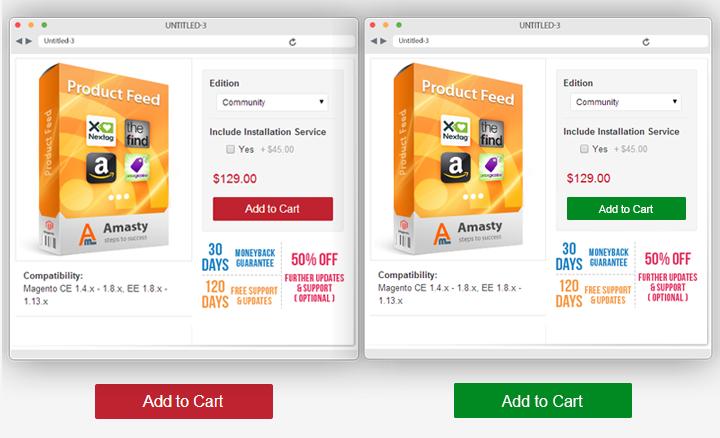 ukázka A/B testování v rámci e-shopu. Inspishop.